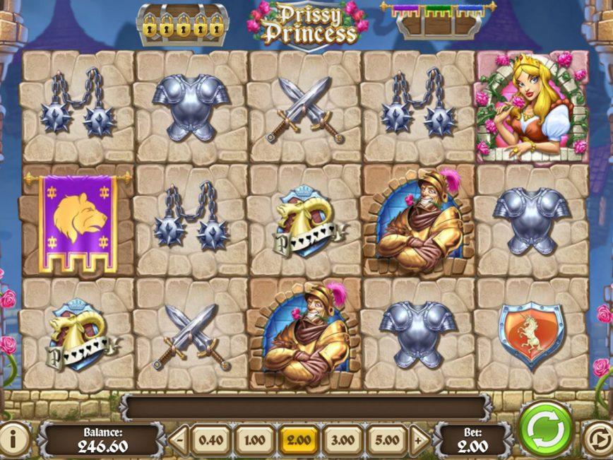 Play free slot game Prissy Princess
