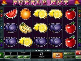 No registration slot game Purple Hot