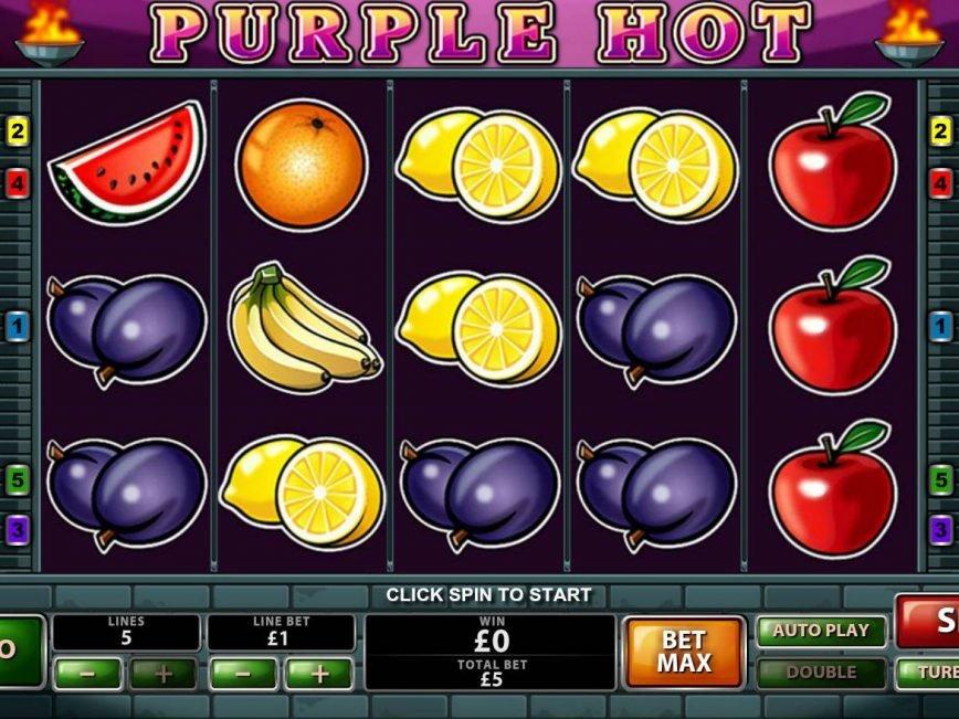 No registration slot game Purple Hot