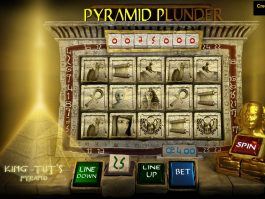 A picture of the slot game Pyramid Plunder