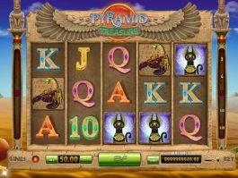 Pyramid Treasure slot machine no deposit
