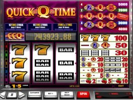 Play free online slot Quick Time