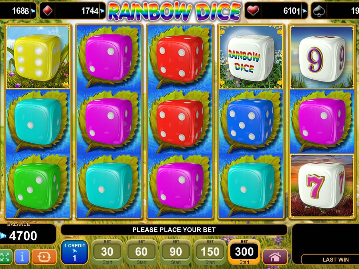 Rainbow Dice Slot Machine
