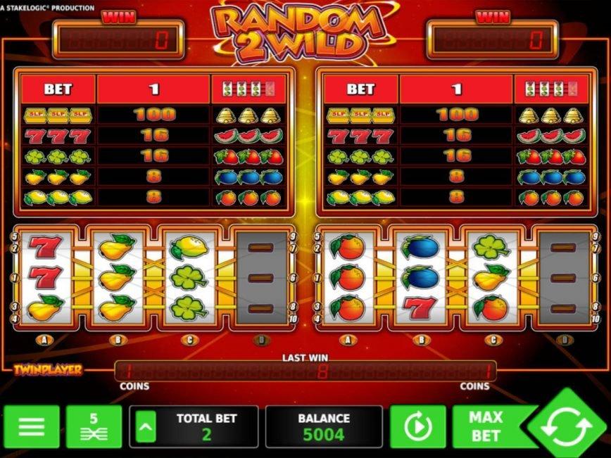 Play slot machine Random 2 Wild online