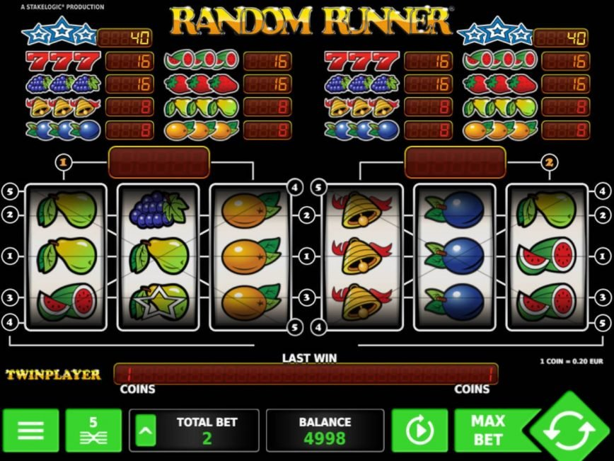 Play online free game Random Runner