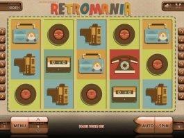 Retromania free slot game with no registration