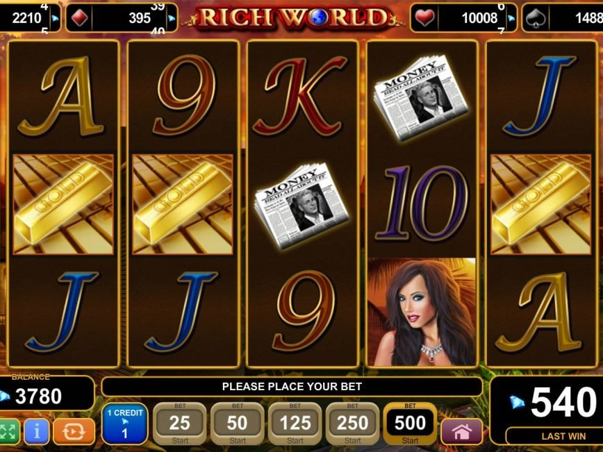 No registration game Rich World