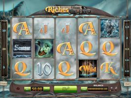 Play free slot machine Riches from the Deep