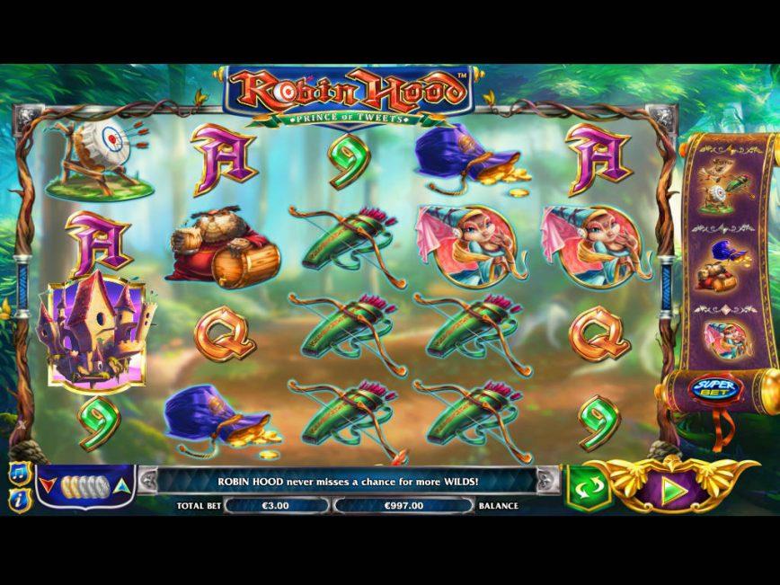 Robin Hood Prince of Tweets free casino game