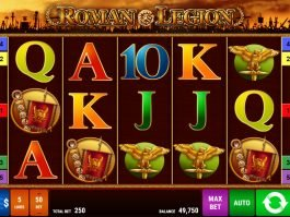 Spin free online slot Roman Legion