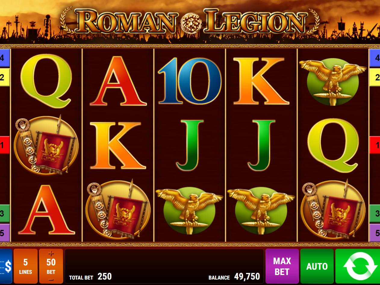 Roman Legion Slot Machine