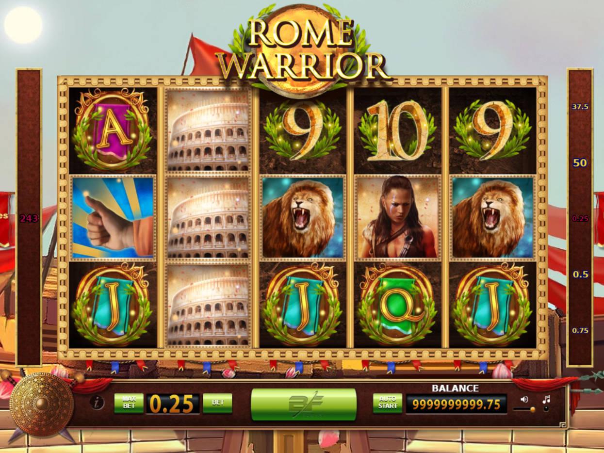 Rome Warrior Slot Machine