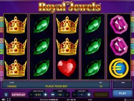 Free game Royal Jewels with no deposit