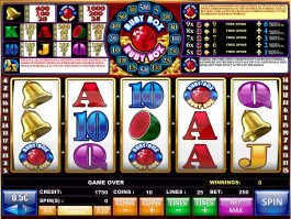 No deposit slot machine Ruby Box