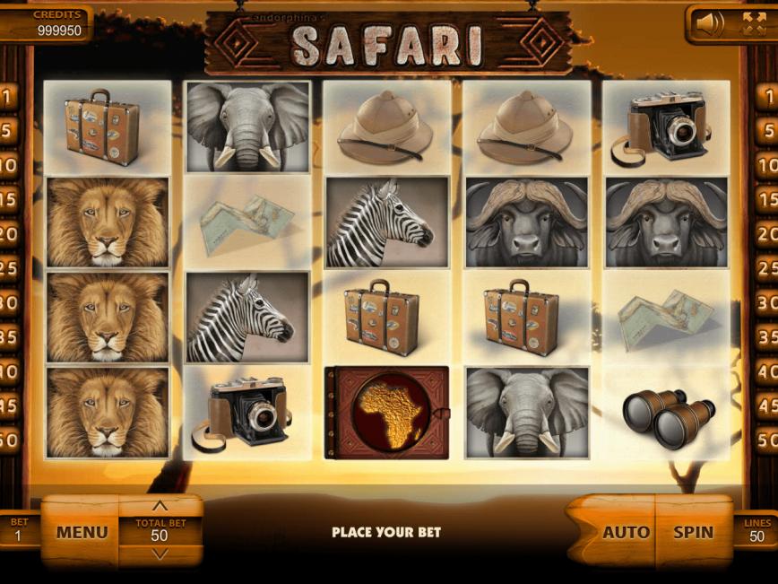 Safari ™ Slot Machine - Play Free Online Game - Slotu.com