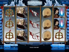Play free slot machine Shaman online