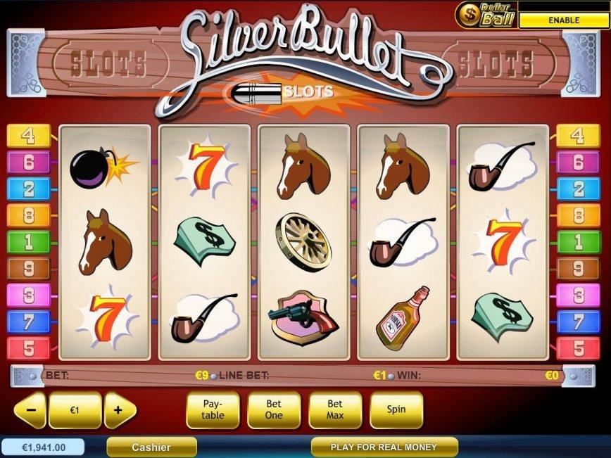 Online casino slot game Silver Bullet