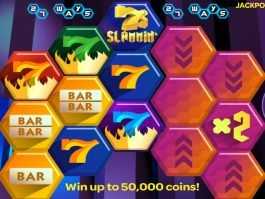 Slammin´ 7s online casino slot game