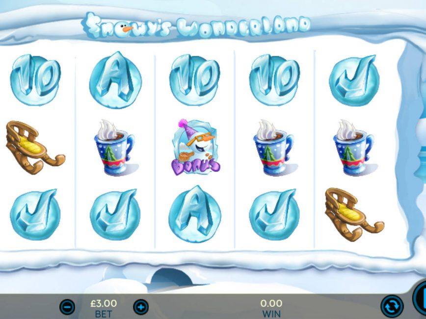 No deposit game Snowy´s Wonderland online