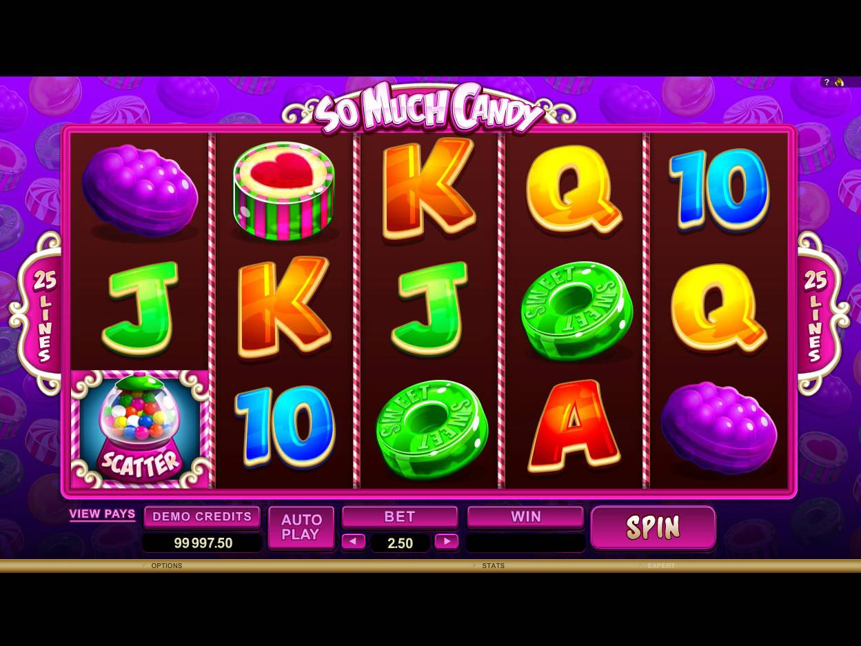 So Much Candy Slot Machine