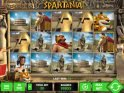 A picture of the casino slot game Spartania