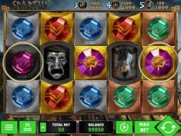 Casino slot machine Spartus no deposit