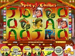 Spicy Chillies free slot game no download
