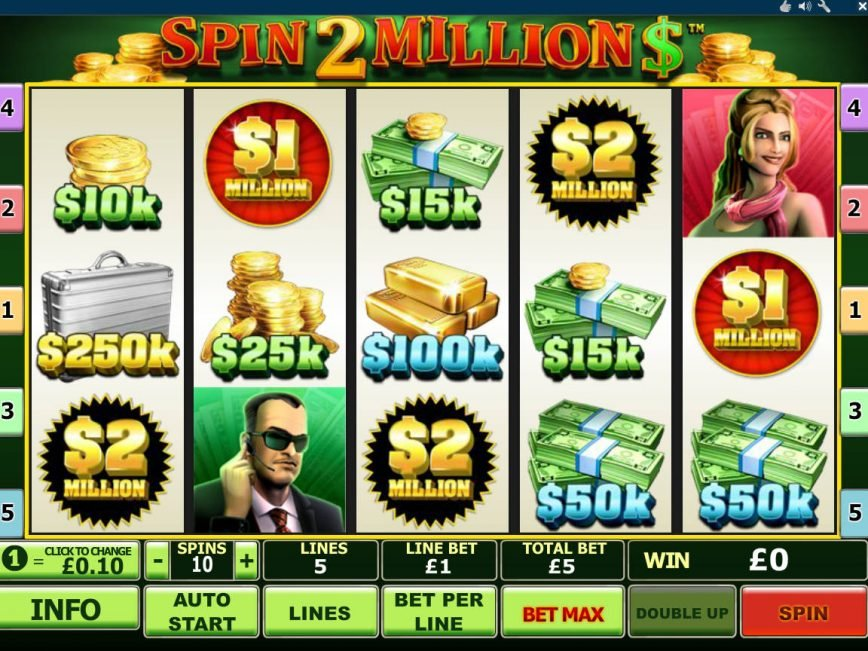 Spin 2 Millions casino free slot game