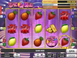 No deposit slot machine Spin and Win
