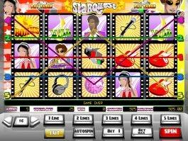 Spin casino slot game Starquest