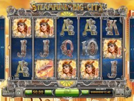 Free slot game Steampunk Big City