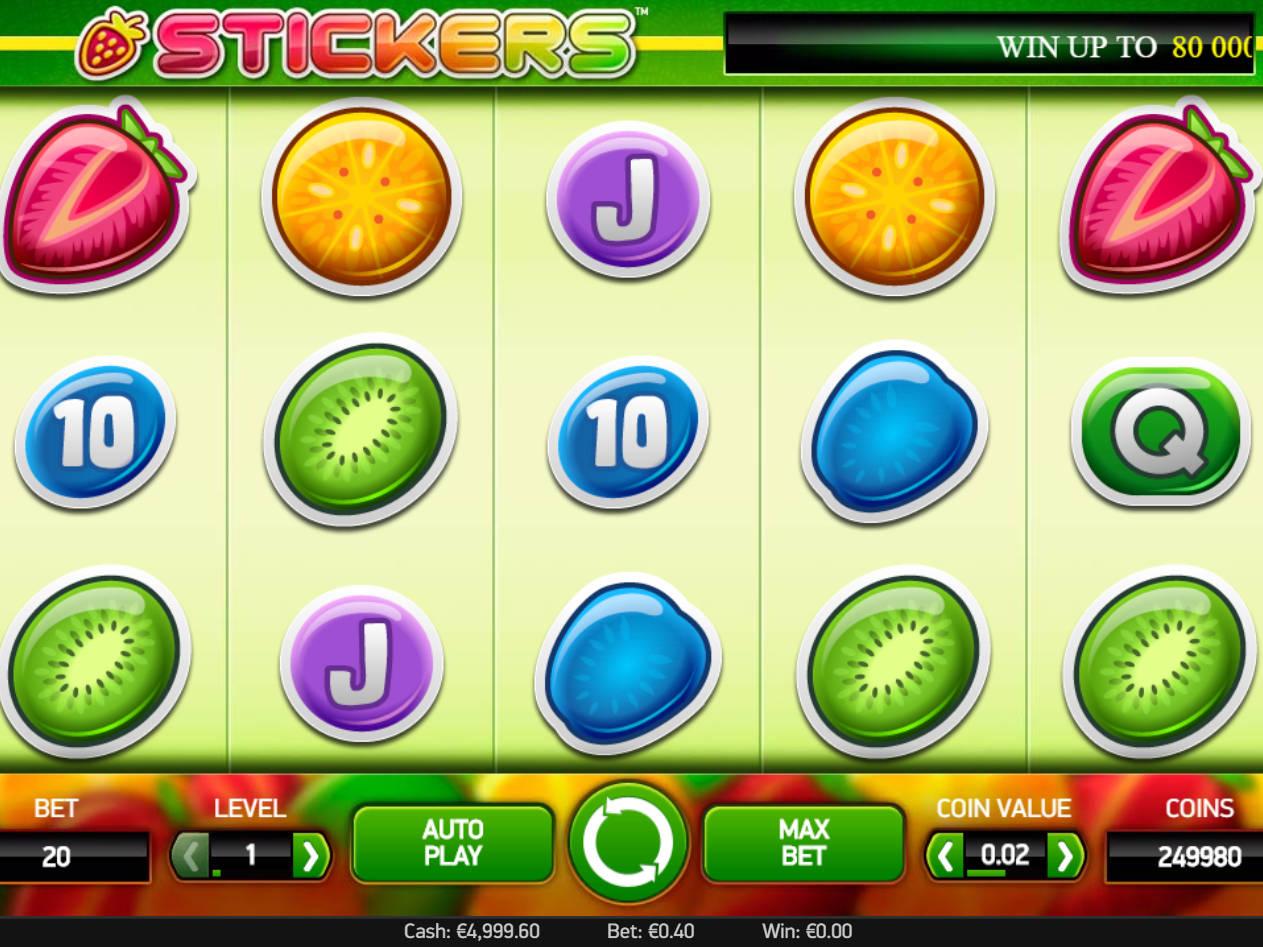Spiele Stickers Slot Machine - Video Slots Online