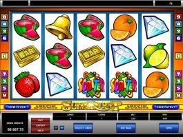 Play slot machine Sun Quest online