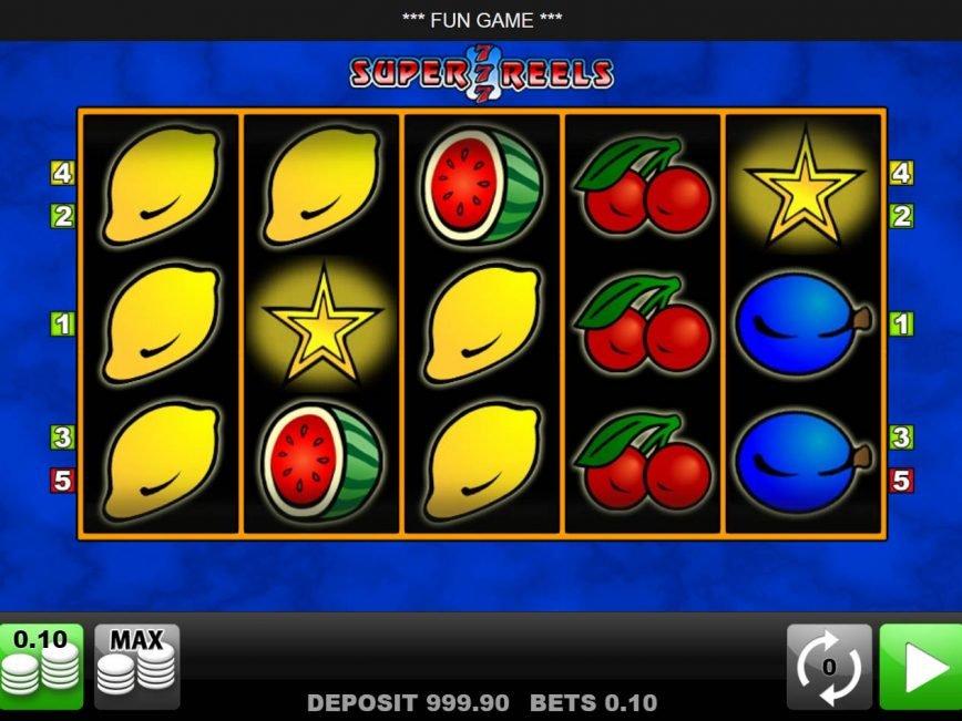 No download game Super 7 Reels online