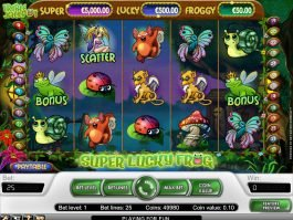 Super Lucky Frog casino free game no deposit