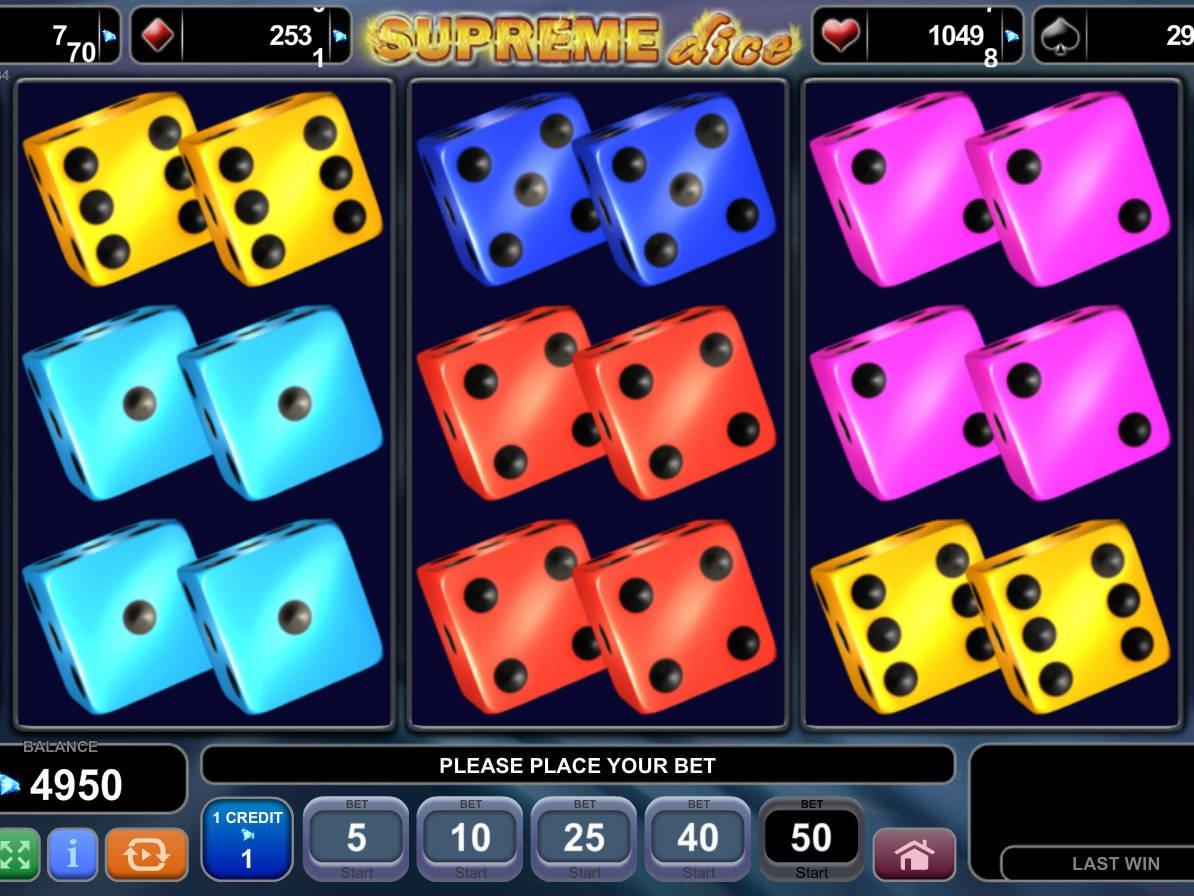 Spiele Supreme Dice - Video Slots Online