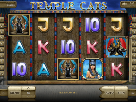 Free slot game Temple Cats online