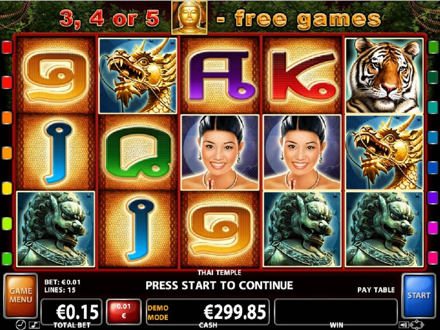 Slot for fun Thai Temple online