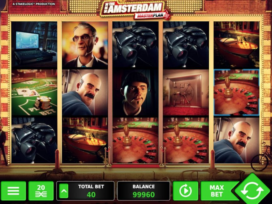 Casino slot machine The Amsterdam Masterplan