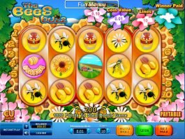 Slot machine The Bees Buzz online