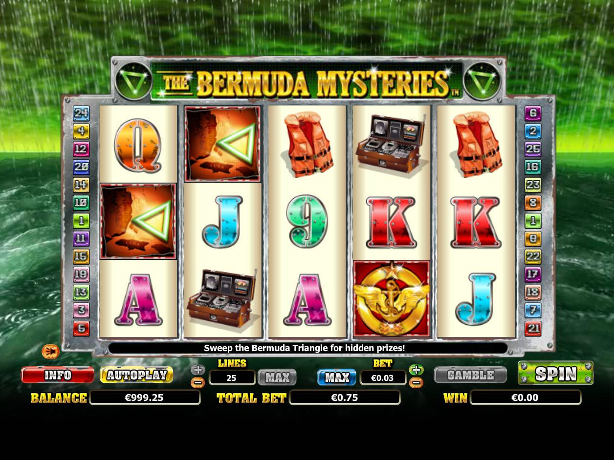 The Bermuda Mysteries Slot Machine