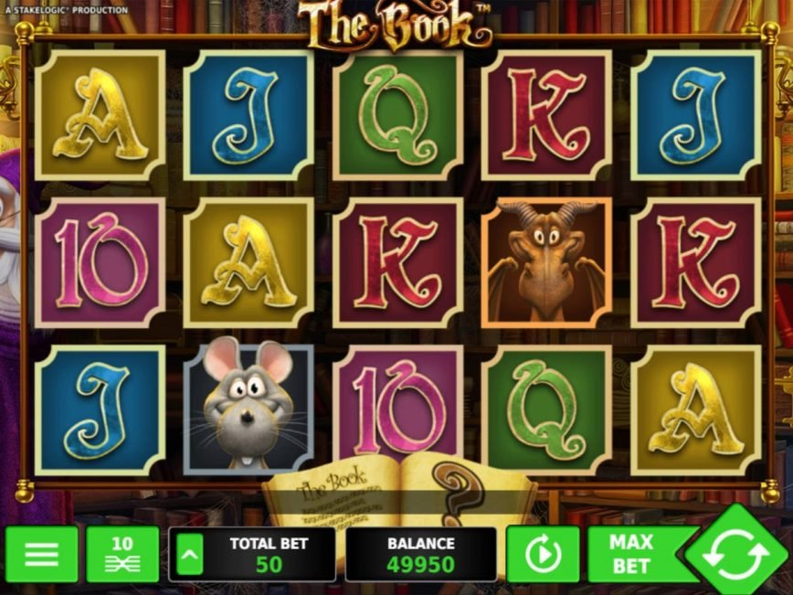 Casino slot machine The Book online