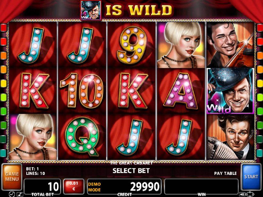 The Great Cabaret free slot machine online