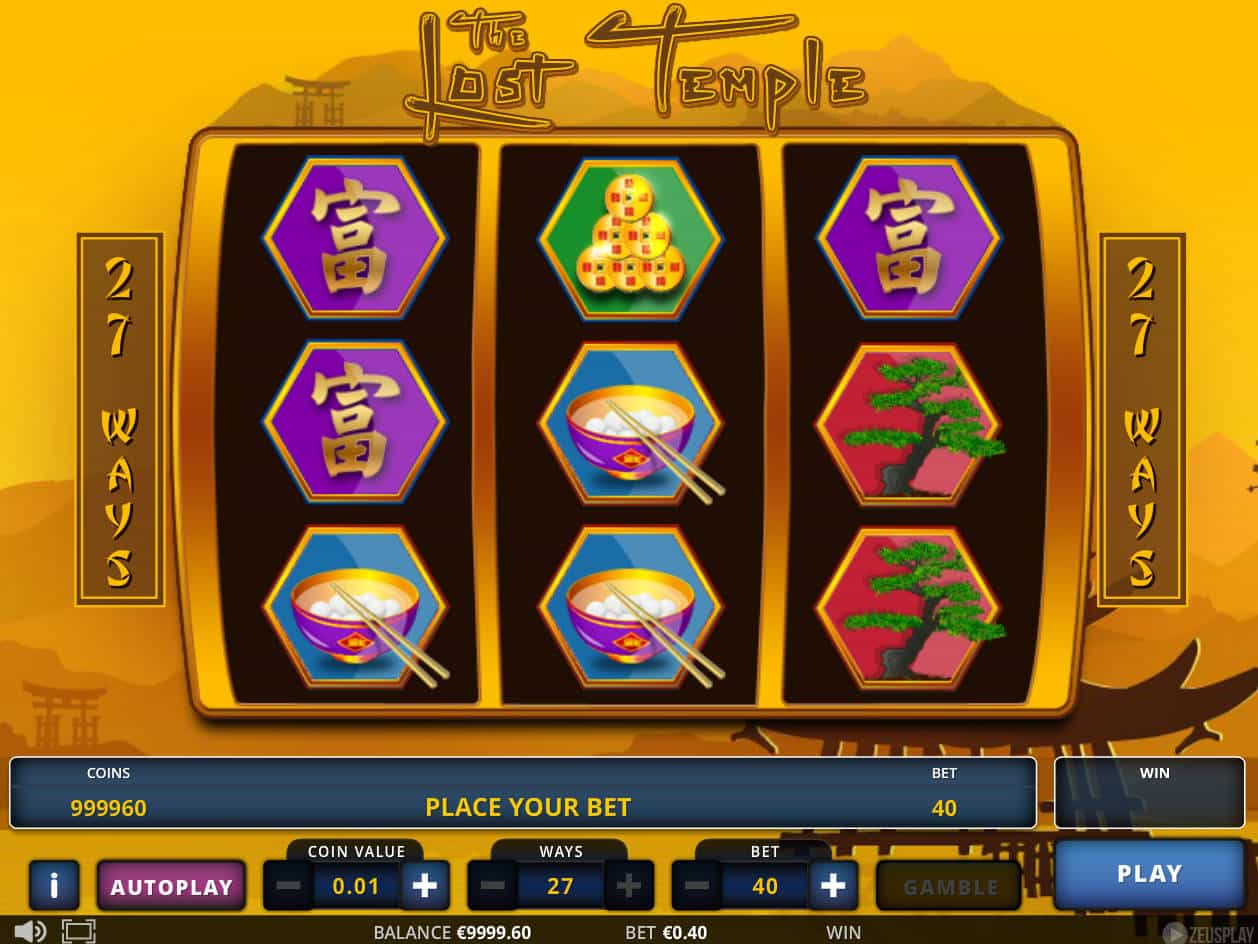 The Lost Temple Slot Machine Play Free Online Game Slotu
