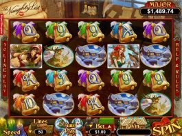 The Naughty List casino free slot machine