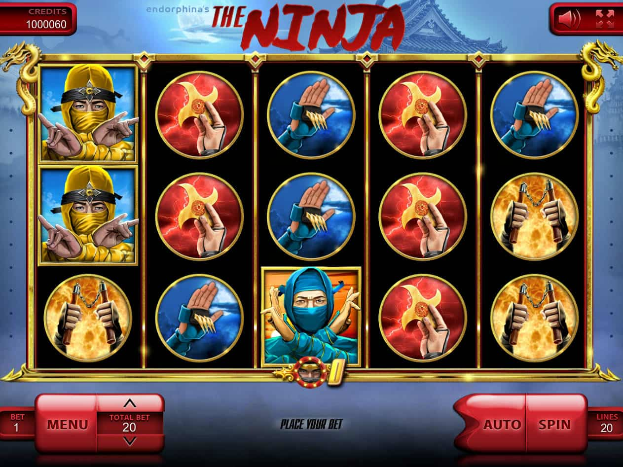 The Ninja Slot Machine