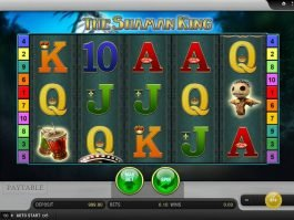 Play slot game The Shaman King online
