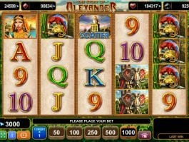 The Story of Alexander casino free slot no deposit