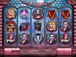 Slot machine for fun The Vampires