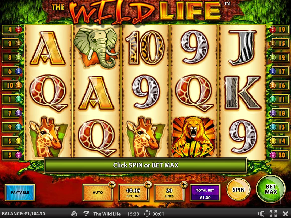 Wild Life Slot Machine
